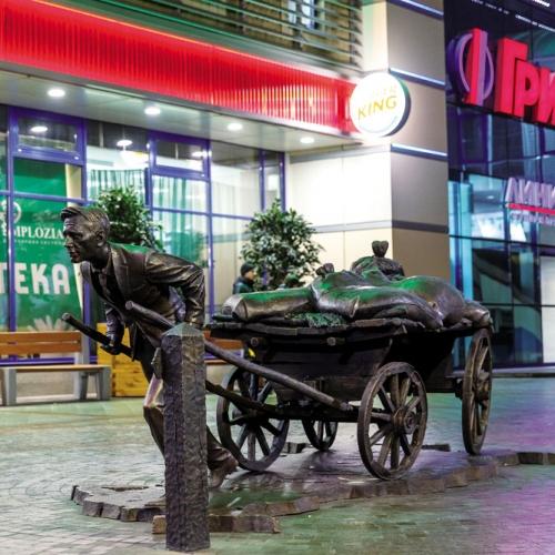 Скульптура Современный предприниматель, Курск